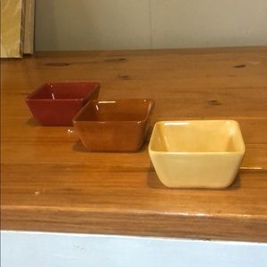 bowl set tri color